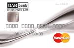 Kreditkarte der DAB